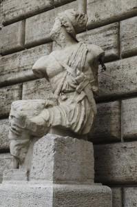 Der Pasquino i Rom