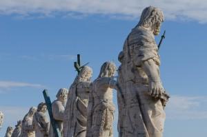 Auf den Kolonaden des Petersplatzes - © Thomas Michael Glaw