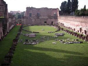 Der Palatinshühel in Rom