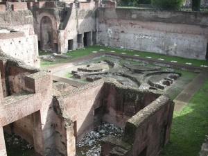 Der Palast des Augustus auf dm Palatin