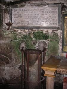 Der Mamertinische Kerker in Rom