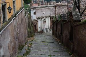 Ein leerer , einsamer Weg ... zu sich selbst - Kreuzweg auf den Gianicolo - © Thomas Michael Glaw
